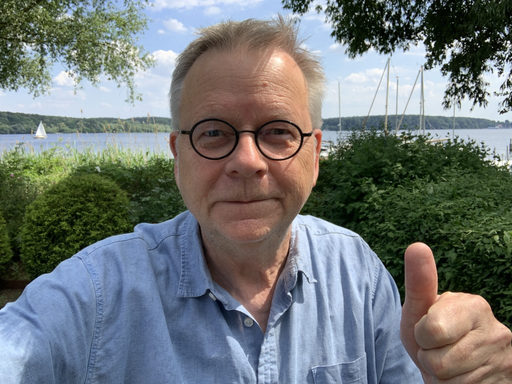 Freut sich auf Sie: Martin Gertler